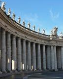 Vatican City. Saint Peter square in Vatican City, Rome Stock Images