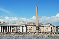 Vatican city center life on May 30, 2014 Stock Images