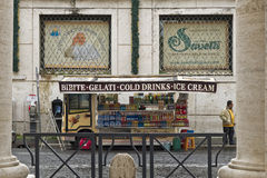 Vatican City gatarestaurang för turister Royaltyfria Bilder