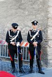 Vatican city guard on May 30, 2014, Rome, Italy Royalty Free Stock Photo