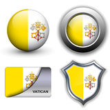 Vatican City icons Stock Photo