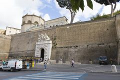 Vatican City ingång Arkivfoton