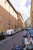 Vatican City ingång Royaltyfri Foto