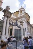 Vatican City ingång Fotografering för Bildbyråer
