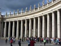 Vatican City kolonner Royaltyfri Fotografi