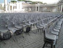 Audience empty seats Royalty Free Stock Photo