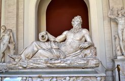 Vatican City Museum. A Statue at Vatican City Museum Stock Photography