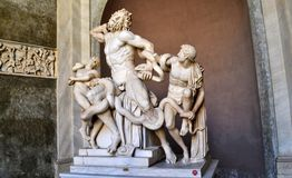 Vatican City Museum. A Statue at Vatican City Museum Stock Photo
