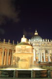Vatican city at night Stock Photos