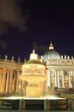 Vatican city at night Stock Photos