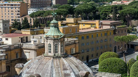 Vatican city. The Vatican City is one of the world`s smallest sovereign states and one of the least populous in the world. Located in the Italian capital of Rome Stock Photography