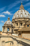 Vatican city. The Vatican City is one of the world`s smallest sovereign states and one of the least populous in the world. Located in the Italian capital of Rome Stock Images
