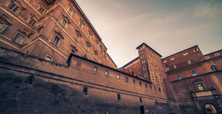 Vatican City and Rome, Italy: inside yard Royalty Free Stock Image