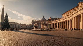 Vatican City and Rome, Italy: St. Peter's Square Royalty Free Stock Images