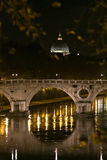 Vatican City, Rome. Night view of the Vatican Royalty Free Stock Photography
