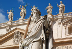 The Vatican City - Saints royalty free stock image
