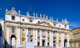 Vatican City. , St. Peters Basilica Stock Photo