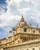 Vatican City, super shot of sky! royalty free stock image
