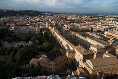 Vatican City Top View Stock Image