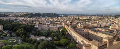 Vatican City Top View Stock Photography