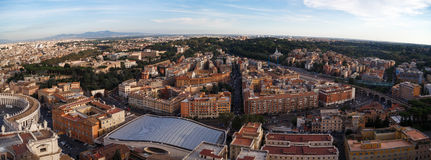 Vatican City Top View Royalty Free Stock Image