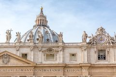 St. Peter`s Basilica royalty free stock images