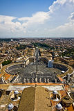 Vatican City view Royalty Free Stock Image