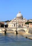 Vatican cityscape and river Stock Photo