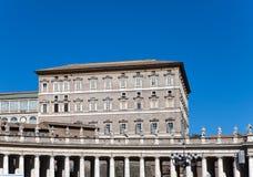 Vatican.Close omhoog in een zonnige dag Stock Foto