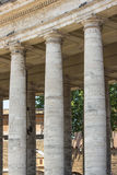 Vatican colonnade of Bernini Royalty Free Stock Photography
