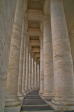 Vatican colonnade detail Royalty Free Stock Photography