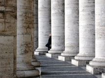 Vatican columns Stock Image