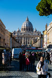 Vatican in December Royalty Free Stock Image