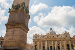 Vatican Dome Rome Italy Stock Images