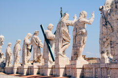Vatican Dome Statue Stock Photography
