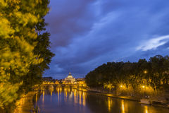 Vatican at dusk Royalty Free Stock Photography