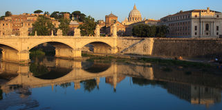 Vatican early morning Royalty Free Stock Images