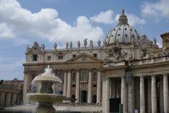 Vatican extérieur Photos libres de droits