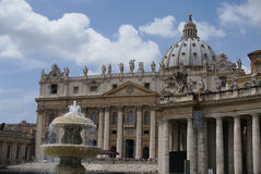 Vatican exterior Fotos de Stock Royalty Free