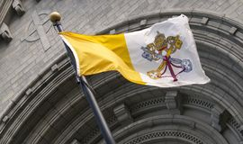 Vatican flag Royalty Free Stock Images