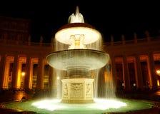 Vatican fountain Stock Image
