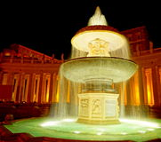 Vatican fountain Royalty Free Stock Image