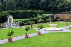 Vatican garden Stock Photo