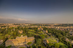 Vatican garden Stock Photos