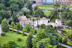 Vatican gardens Royalty Free Stock Images