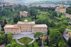 Vatican gardens Royalty Free Stock Image