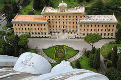 Vatican gardens Royalty Free Stock Photography