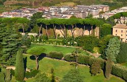 Vatican Gardens, Rome Royalty Free Stock Images
