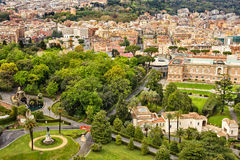 Vatican gardens Stock Photo