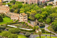 Vatican gardens Stock Photography